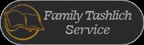 Family Tashlich Service